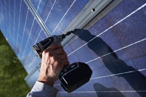 Costruzione pannello solare