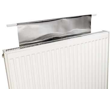 radflek, risparmio energetico, riscaldamento