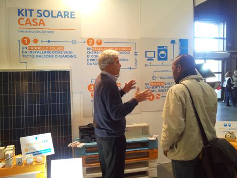 Il nostro Diego spiega i vantaggi dell'energia solare