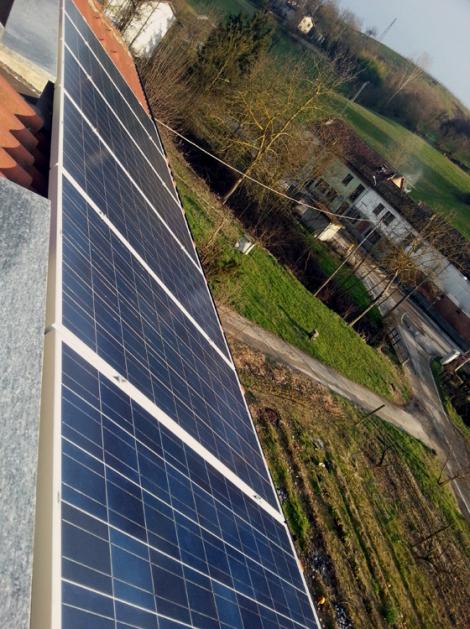 8 Pannelli Fotovoltaici da 240W