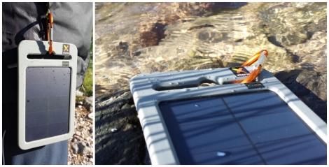 Caricabatterie solare, Yu, caricabatterie portatile
