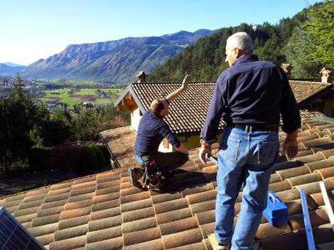 Orientamento ottimale pannelli fotovoltaici