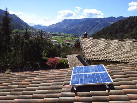 Installazione pannelli fotovoltaici, impianto solare a isola