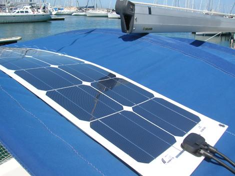 Pannello fotovoltaico per barca