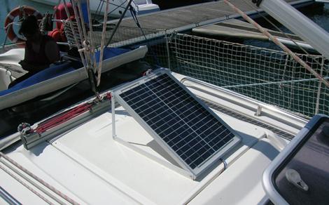 Pannello solare per barca