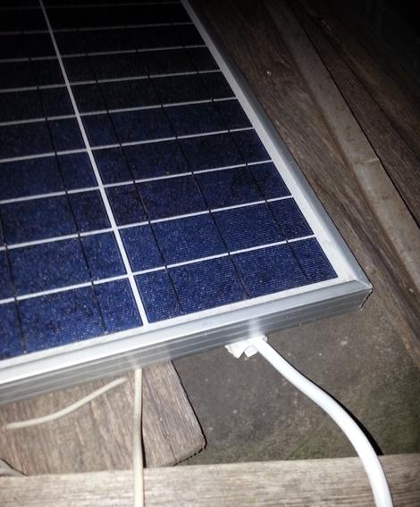 Pannello solare, illuminazione led a energia solare