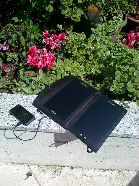 Caricabatteria, Caricabatterie solare