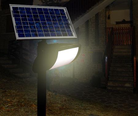 Lampada Antea a energia solare