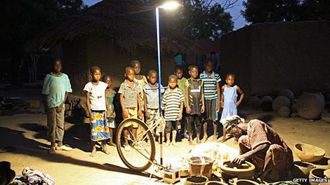 Luce solare Mali