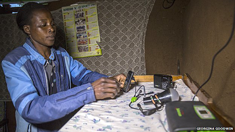 Kit portatile a energia solare