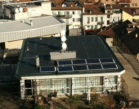 Impianto fotovoltaico ad accumulo Il Portale del Sole