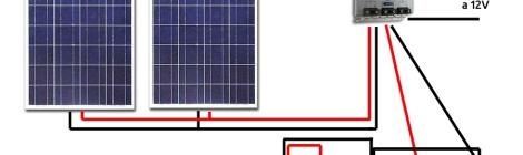 collegamento componenti impianto fv