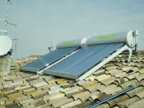 pannelli solari acqua calda