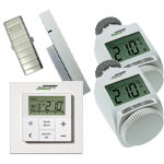 Kit Termostato e valvole termostatiche