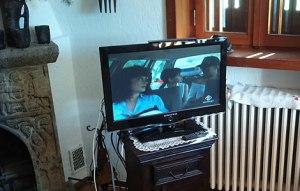 TV e valigetta