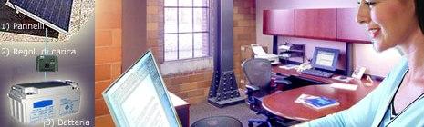 Impianto fotovoltaico per ufficio