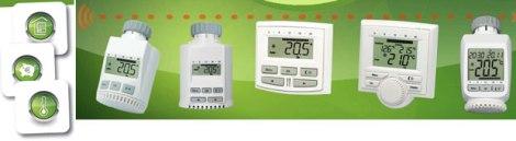Valvole termostatiche digitali