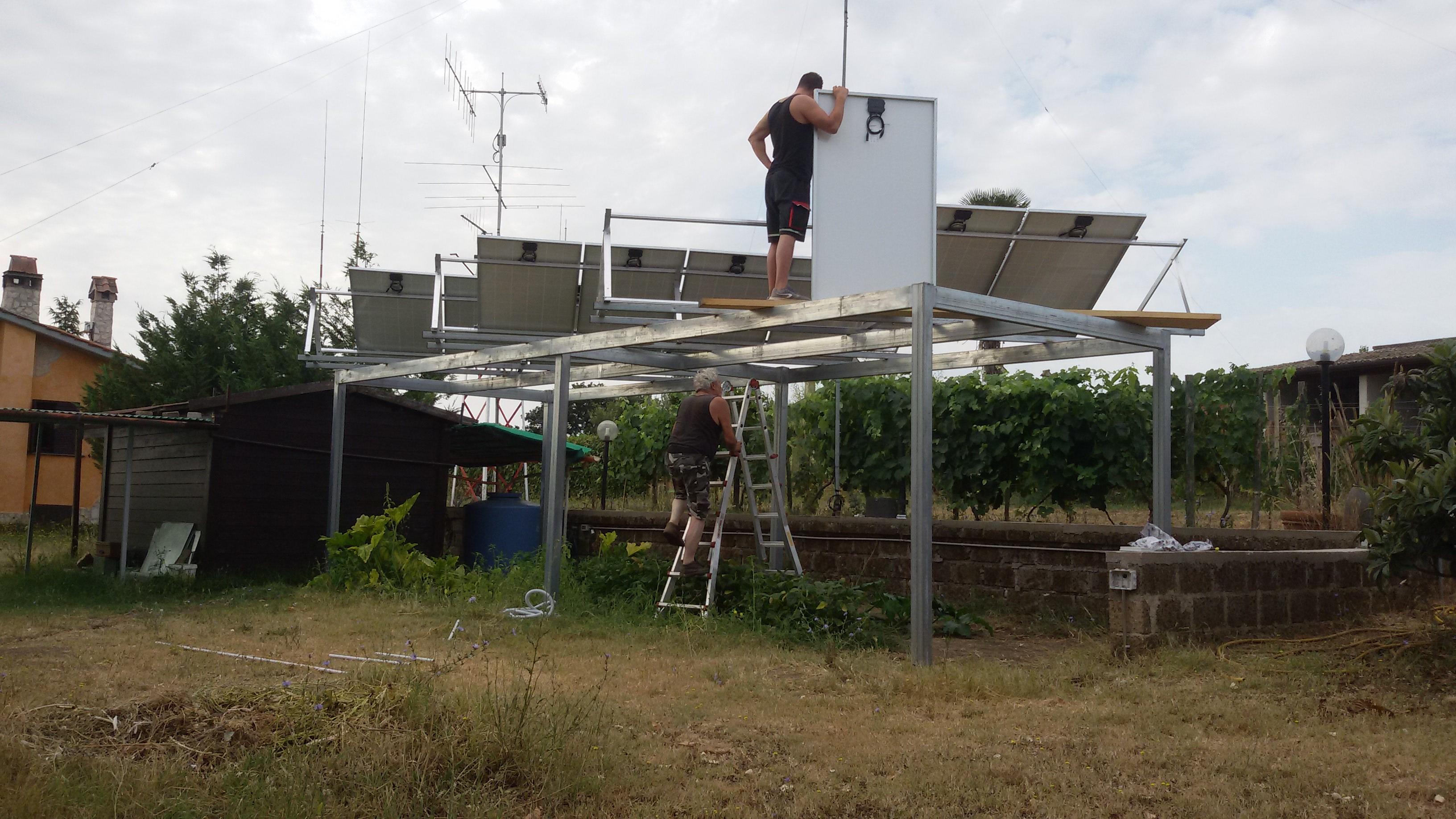 Schema Elettrico Fotovoltaico : L impianto fotovoltaico kw a isola di giovanni sunisyou